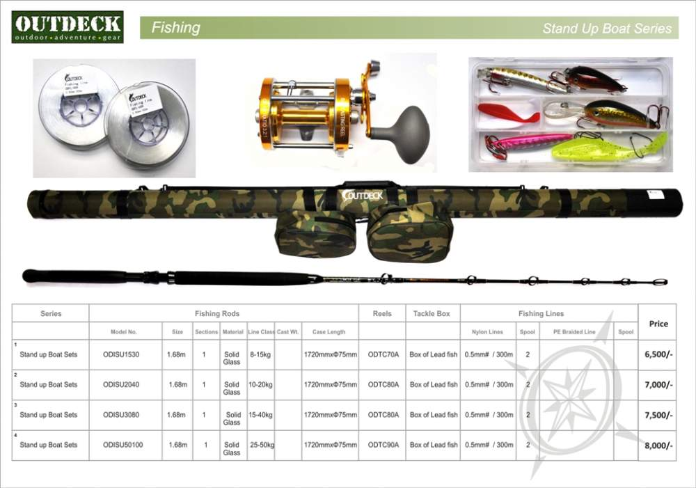 Buy Fishing Rod + Reel + Lines + Baits + Camouflage Fishing Case delivered in India
