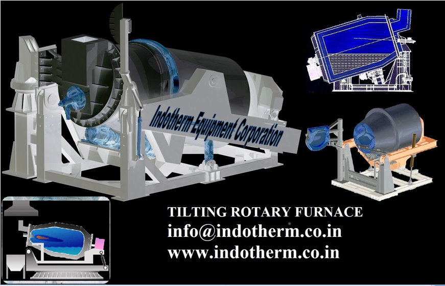 Buy TILTING ROTARY FURNACE