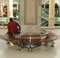 Buy Stainless Steel And Wooden Benches