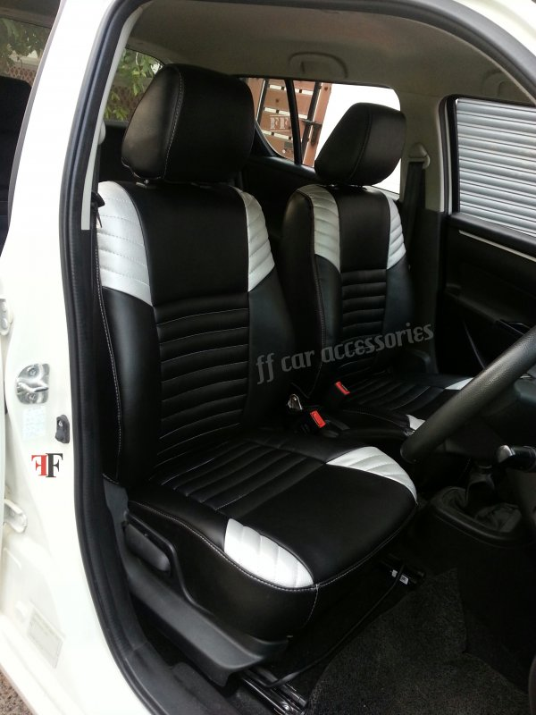 Buy Car seat cover for MARUTI SWIFT customized by Team FF car accessories chennai