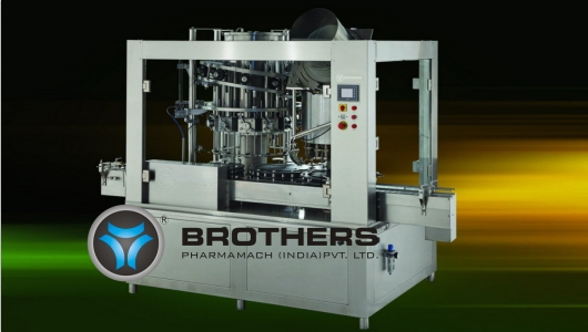 Buy Automatic Rotary Monoblock Volumetric Liquid Bottle Filling & Capping Machine