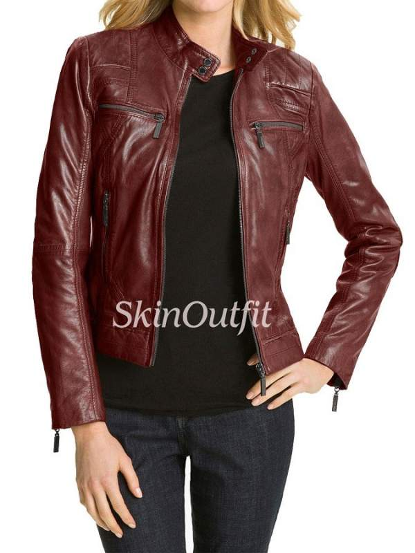 Leather jackets for women for sale in Mumbai on English