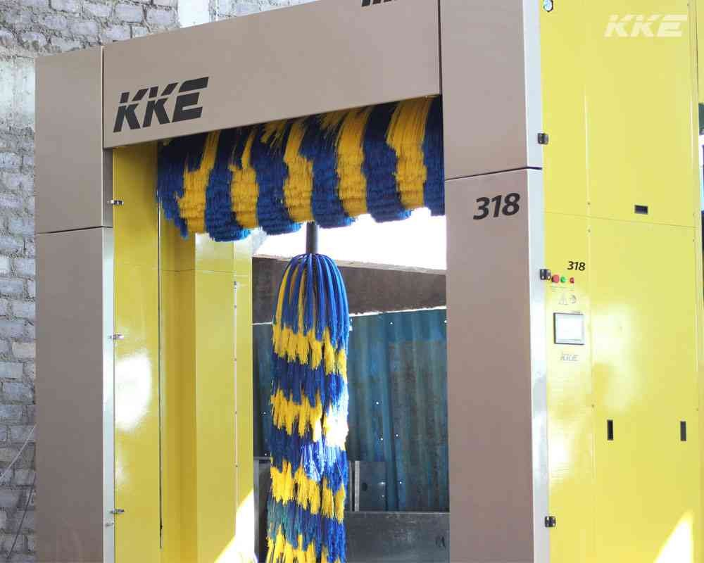 Buy KKE 318 : 3 Brush Automatic Car Wash Equipment