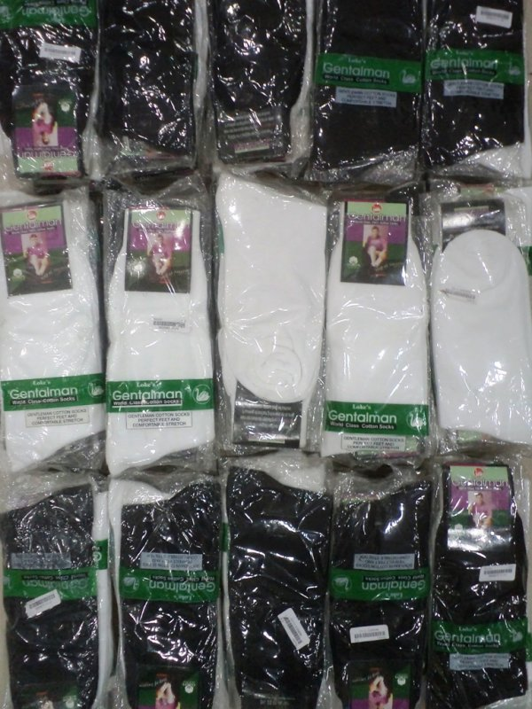 Buy Mens Socks 100% Cotton (6 pcs Pack) In Wholesale Only Rs 25/- per piece