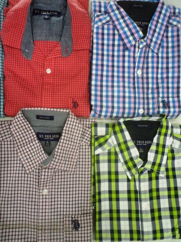 Buy Export Surplus Branded Mens Shirts at Wholesale Price (3 pc Pack)
