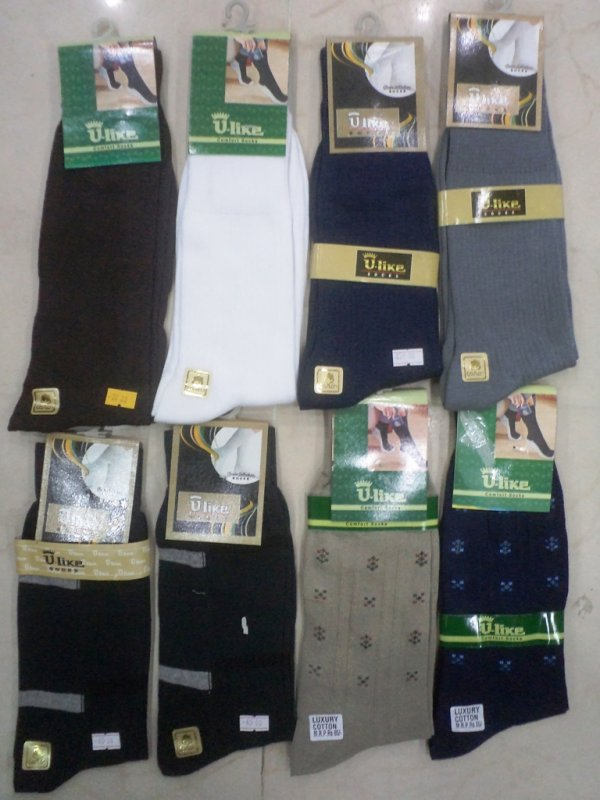 Buy Mens Socks ULike Brand (6 pcs Pack) In Wholesale Only Rs 40/- per piece
