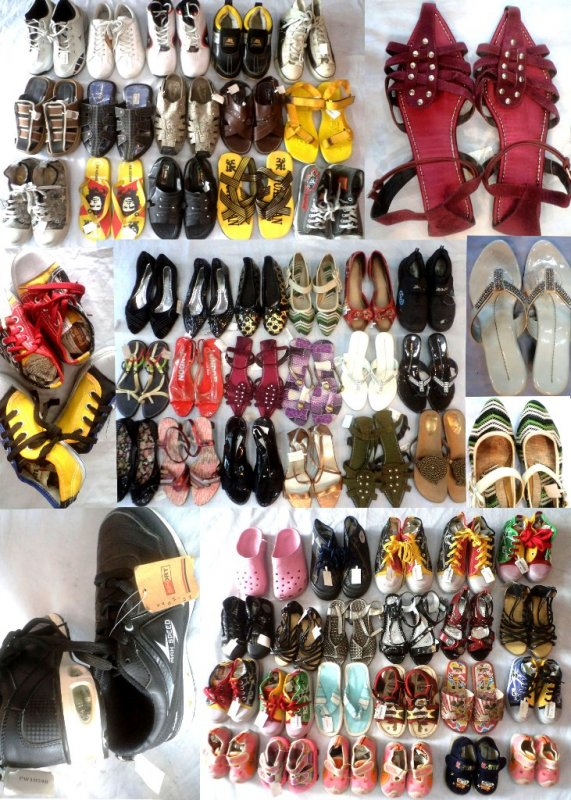 Buy Footwear Mix Lot Of 295 pcs (Worth Rs 195 to 2995) Now at Wholesale Price Only Rs 150 per piece