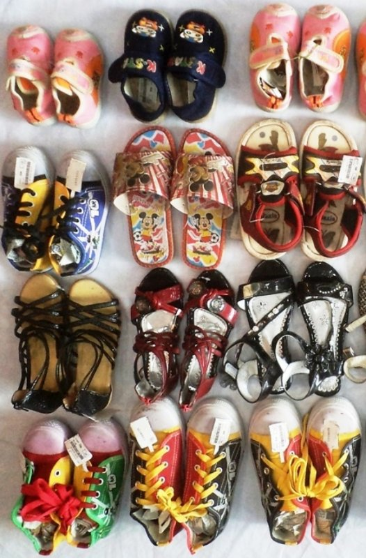 Buy Kids Footwear Mix Lot Of 37 pcs (Worth Rs195 to 395) Only Rs 50/piece in Wholesale