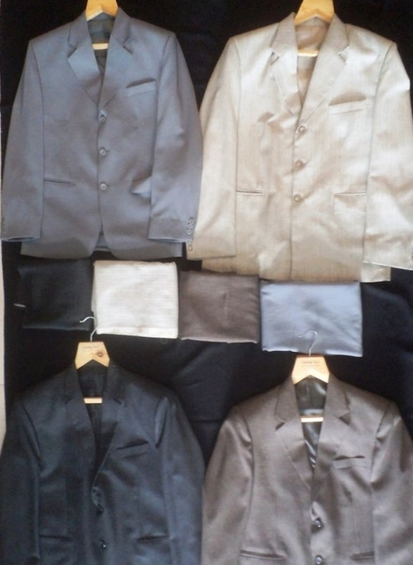 Buy Mens Suits Lot Of 9 pcs (Worth Rs 2495 to 11550) Only Rs 1500/piece in Wholesale