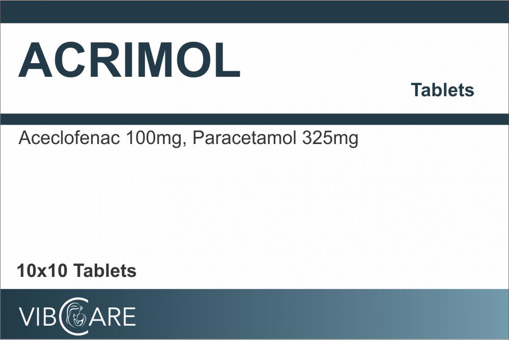Buy Aceclofenac Paracetamol Tablet