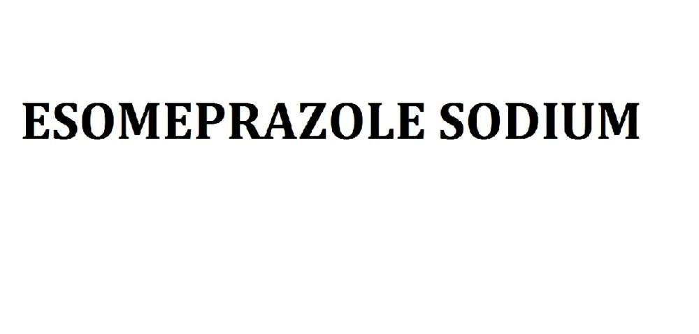 Buy ESOMEPRAZOLE SODIUM