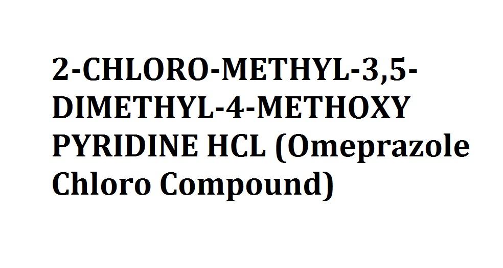 Buy 2-CHLORO-METHYL-3,5-DIMETHYL-4-METHOXY PYRIDINE HCL (Omeprazole Chloro Compound)