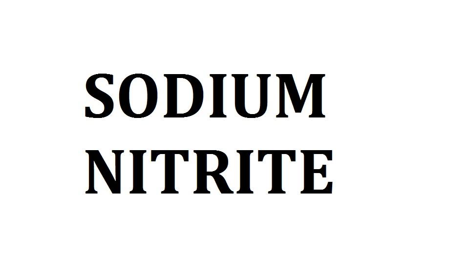 Buy SODIUM NITRITE