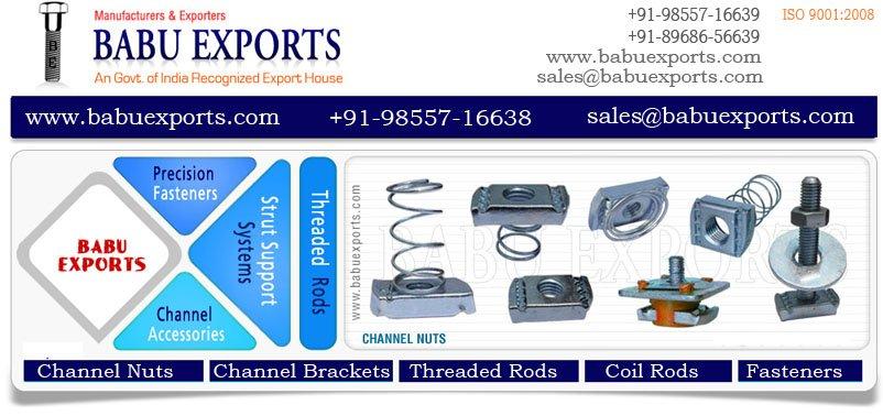 Buy Channel Nuts