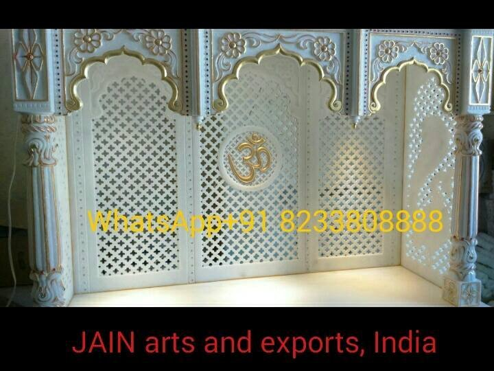 Buy Pure White Marble Temples