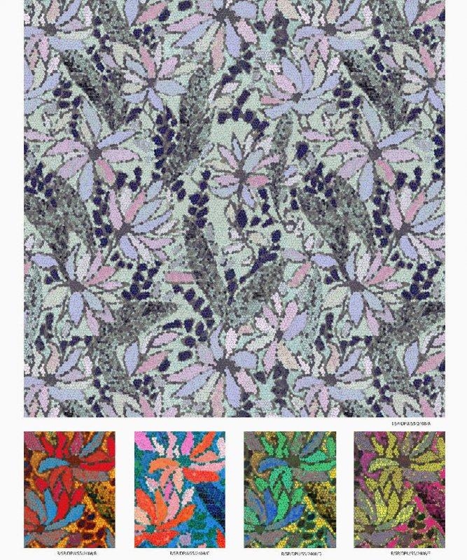 Buy Digital Printed Silk Georgette Fabric for Fashion