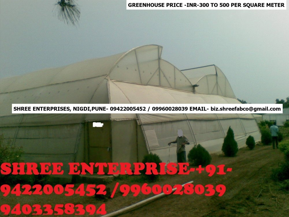 Buy Naturally Ventilated Greenhouse