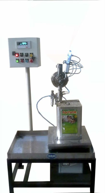 Buy BUCKET FILLING MACHINE WITH CAPPING (LOADCELL BASED)