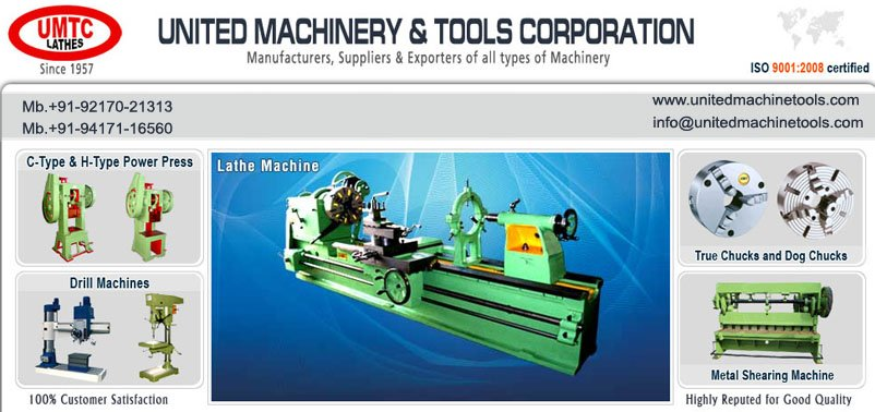 Buy Lathe Machines, Shaper Machine, Milling Machine, Slotting Machine manufacturers exporters in india, south africa, bangladesh, ghana, Sudan, Zimbabwe