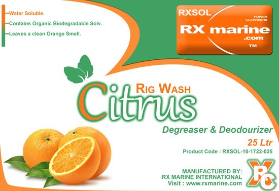 Buy Rig wash citrus