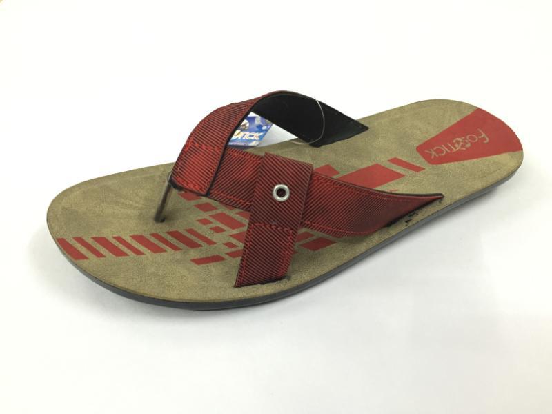 Trendy Gents PU Slippers