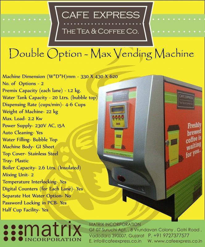 Buy Tea and Coffee Vending Machine