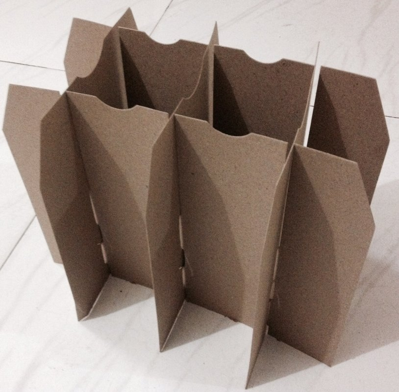 Buy Fibre Partitions / Fibre Dividers From 100 % Recycled Paper