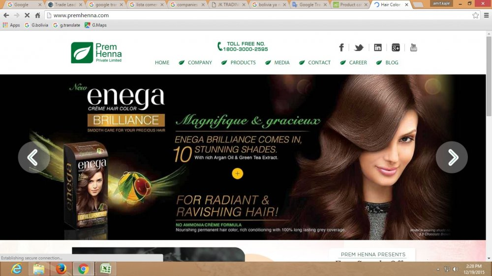 Buy Prem henna products are hair coloring products