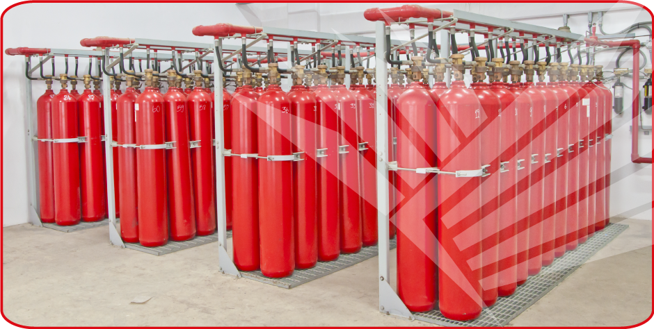 Buy Fire suppression system FM-200, Novac 1230
