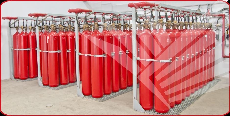 Buy Fire suppression system FM-200, Novac 1230