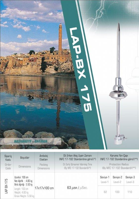 Buy ADVANCED LIGHTNING TERMINAL, FARADEL LIGHTNING TERMINAL, MOBILE EARTHING