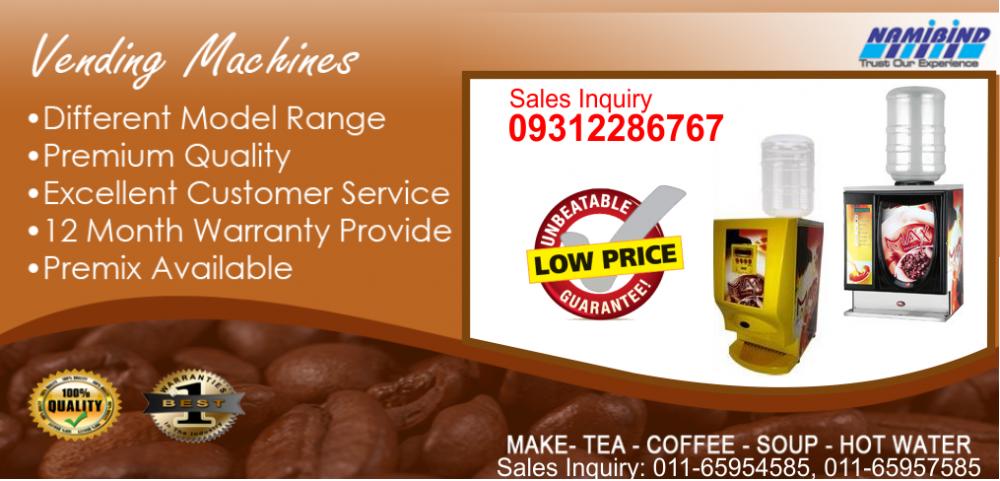 Buy Tea Coffee Vending Machine Dealers In Delhi