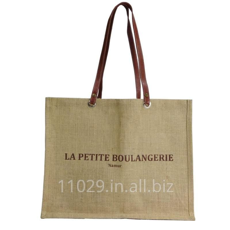 La Petite Boulangerie Promotional Bag With Leatherette Handle