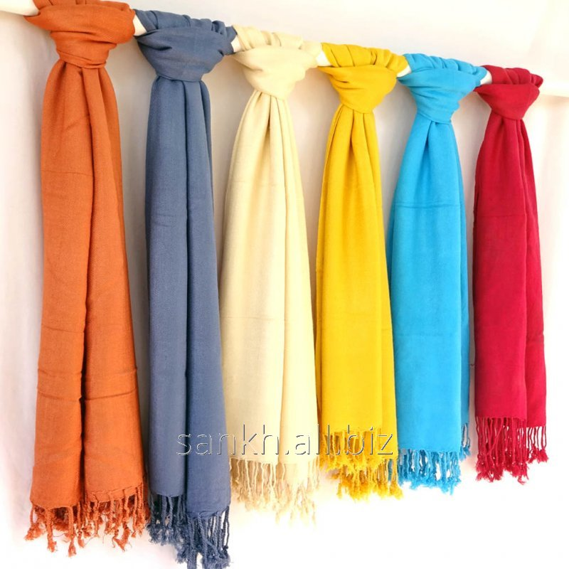 Solid color Pashmina Style Over Size Women's viscose Stole-Wholesale Offer