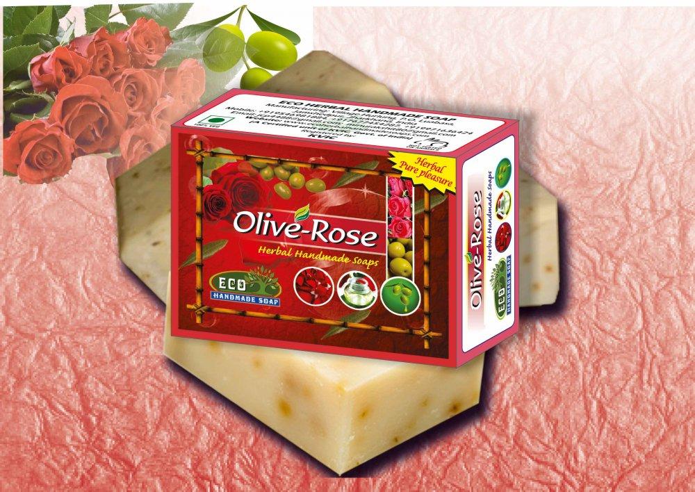 Buy Almond-Rose Handmade Soap