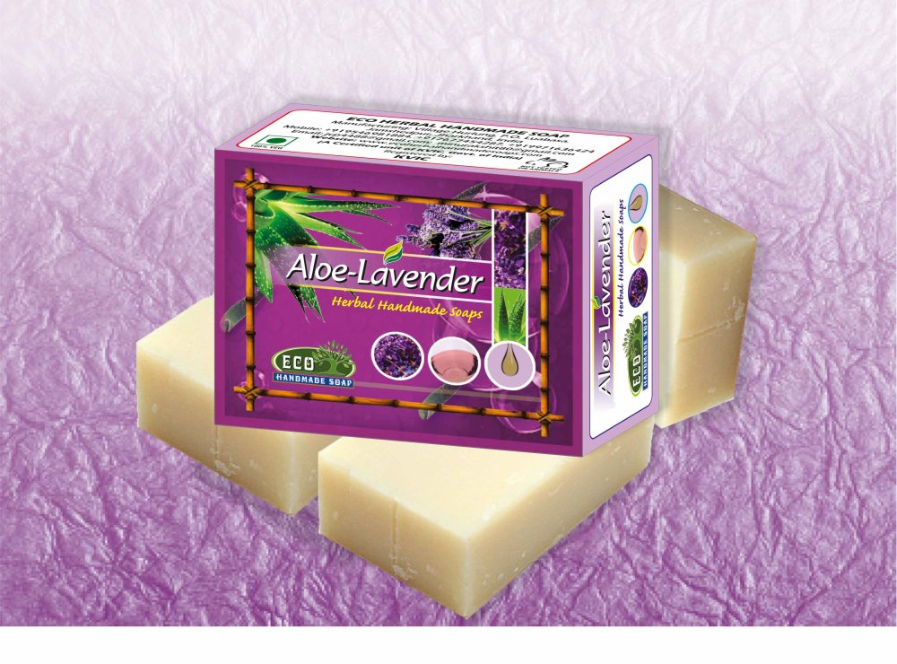 Buy Aloe Lavender Handmade Soap