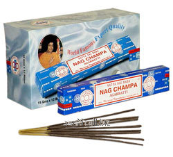 15 gm x2x12 boxes-24Box pack Sai Baba Nag Champa Incense