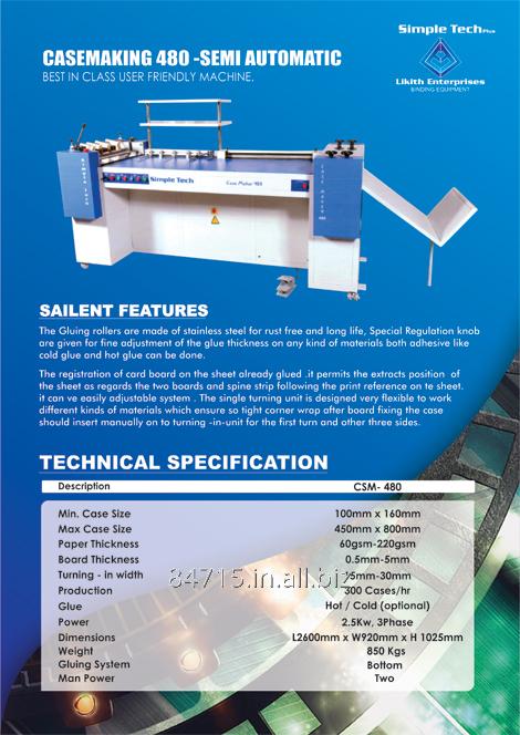 Buy Hard Casing Making machine