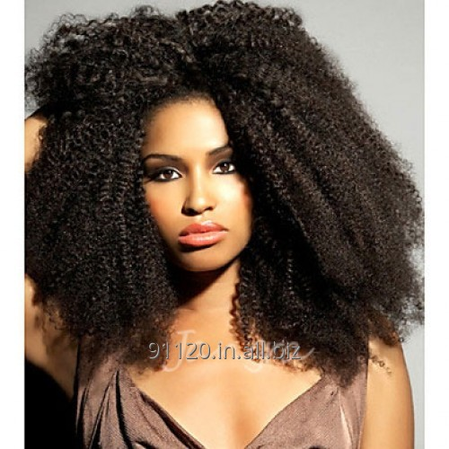 AFRO CURLY FULL LACE WIG