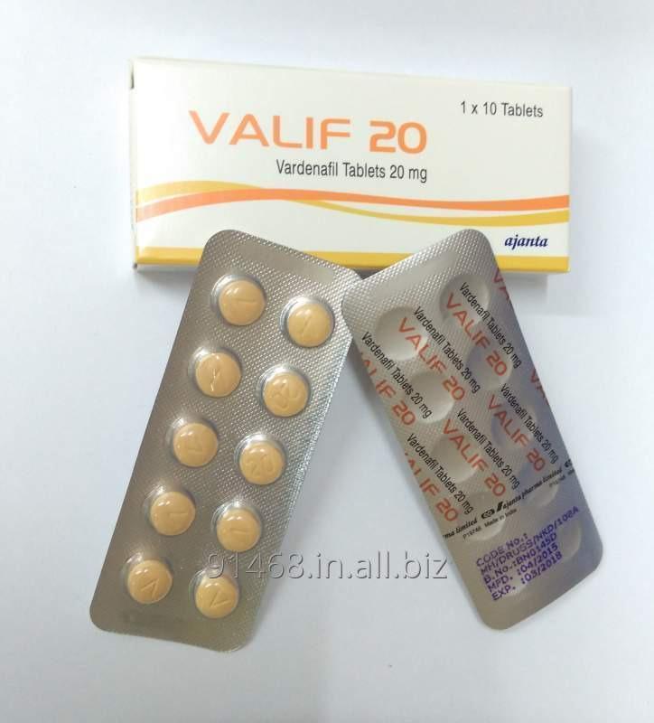 VALIF 20 mg ED PRODUCTS