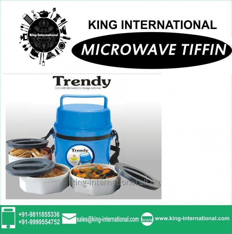 Kook Island FOOD GRADE AND MIRCOWAVEABLE TIFFIN