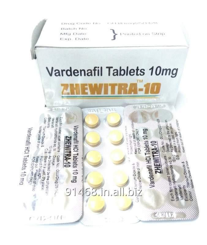 ZHEWITRA 10 mg GENERIC LEVITRA