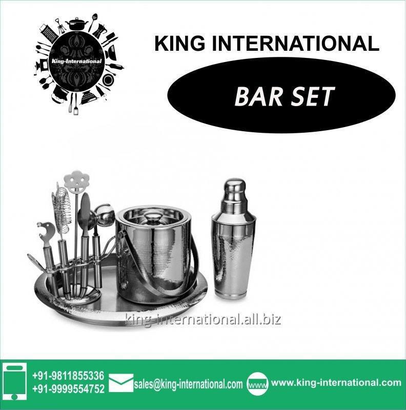 Silver Bar Set