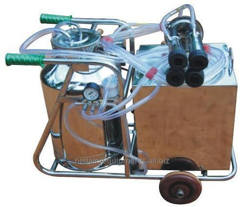 Single Bucket Hand cum Electric cum Battery Operated Milking Machine