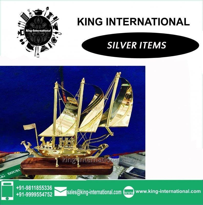Buy Brass Ship Set