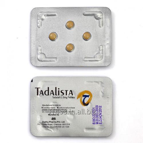 TADALISTA 2.5 mg GENERIC CIALIS