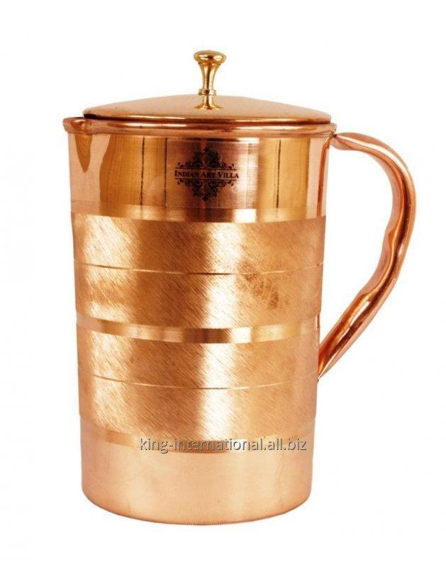 Buy Copper water jugs and pitchers