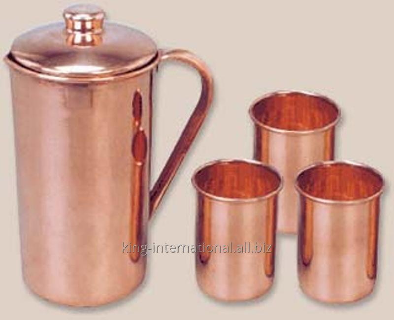 Buy Copper milk jug