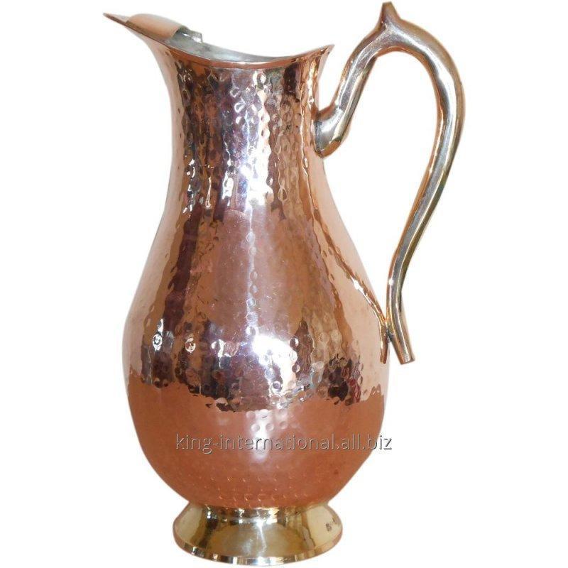 Buy Buy Indian Art Villa Pure Copper Jug