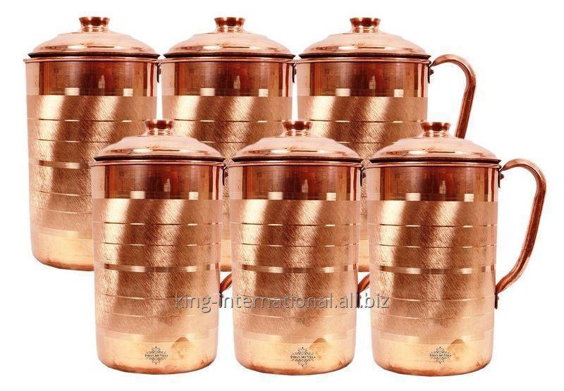 Buy High quality Copper milk jug